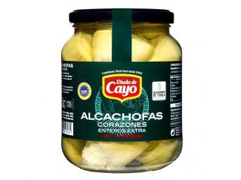 Alcachofa de Tudela Viuda de Cayo 10-14 frutos enteros