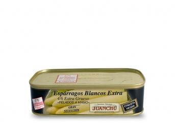Espárragos blancos extra. 4/6 frutos extra gruesos