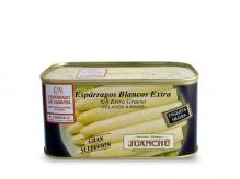 Espárrago blanco Extra. 6/8 frutos. EXTRA GRUESO