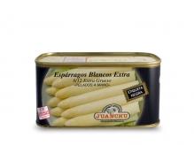 Espárrago blanco Extra. 8/12 frutos. EXTRA GRUESO