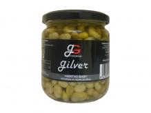 Habitas baby en aceite de oliva 345 grs.