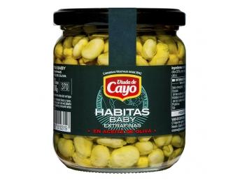 Habitas baby en aceite de oliva - 370