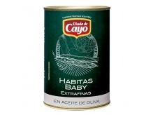 Habitas baby en aceite de oliva - 425