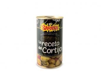 La receta del Cortijo - Aceitunas Sarasa