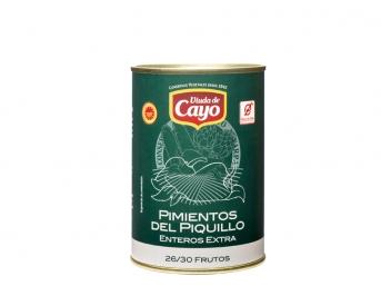 Pimientos del Piquillo asado tradicional enteros Extra. 18/22 frutos