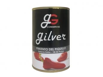 Pimientos del piquillo enteros Extra. 18/22 frutos