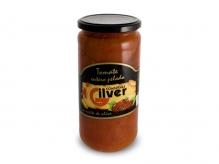 Tomate entero pelado en aceite de oliva